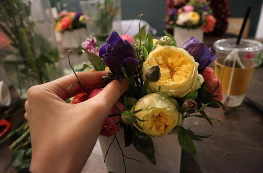 꾸까, 플라워클래스, 원데이클래스, 꽃,