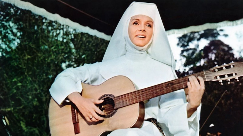 사진: 1965년 영화에서 루크 가브리엘로 연기 중인 배우.