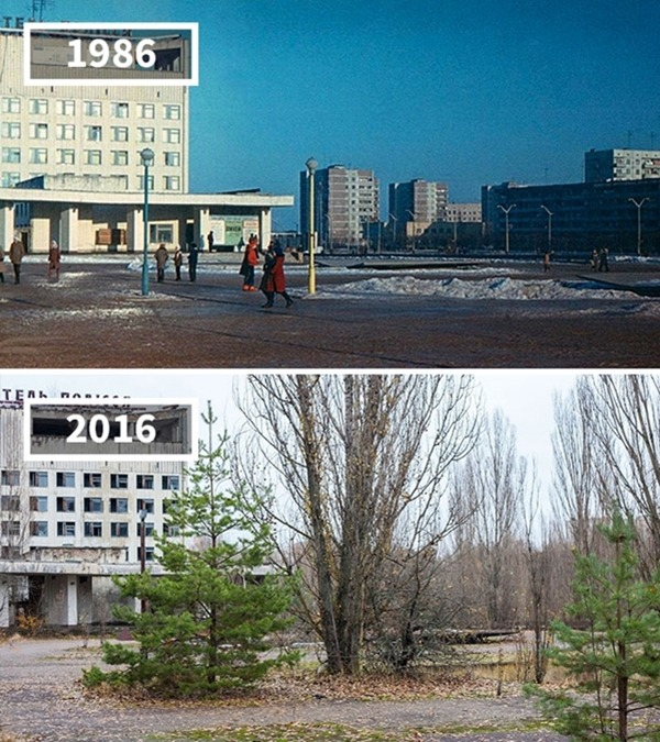우크라이나, 프리피야티, 1986~2016