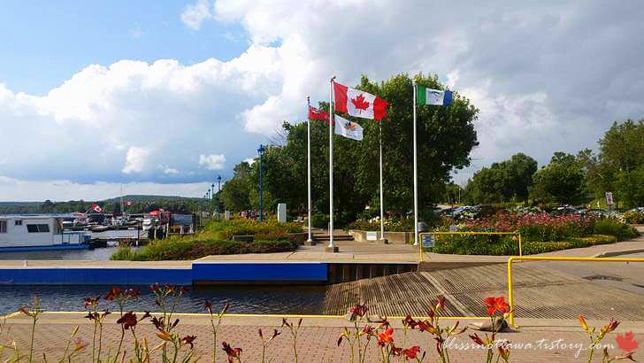 캐나다 국기입니다