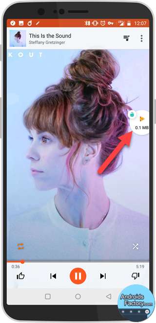 구글 플레이 뮤직 데이터 절약하는법