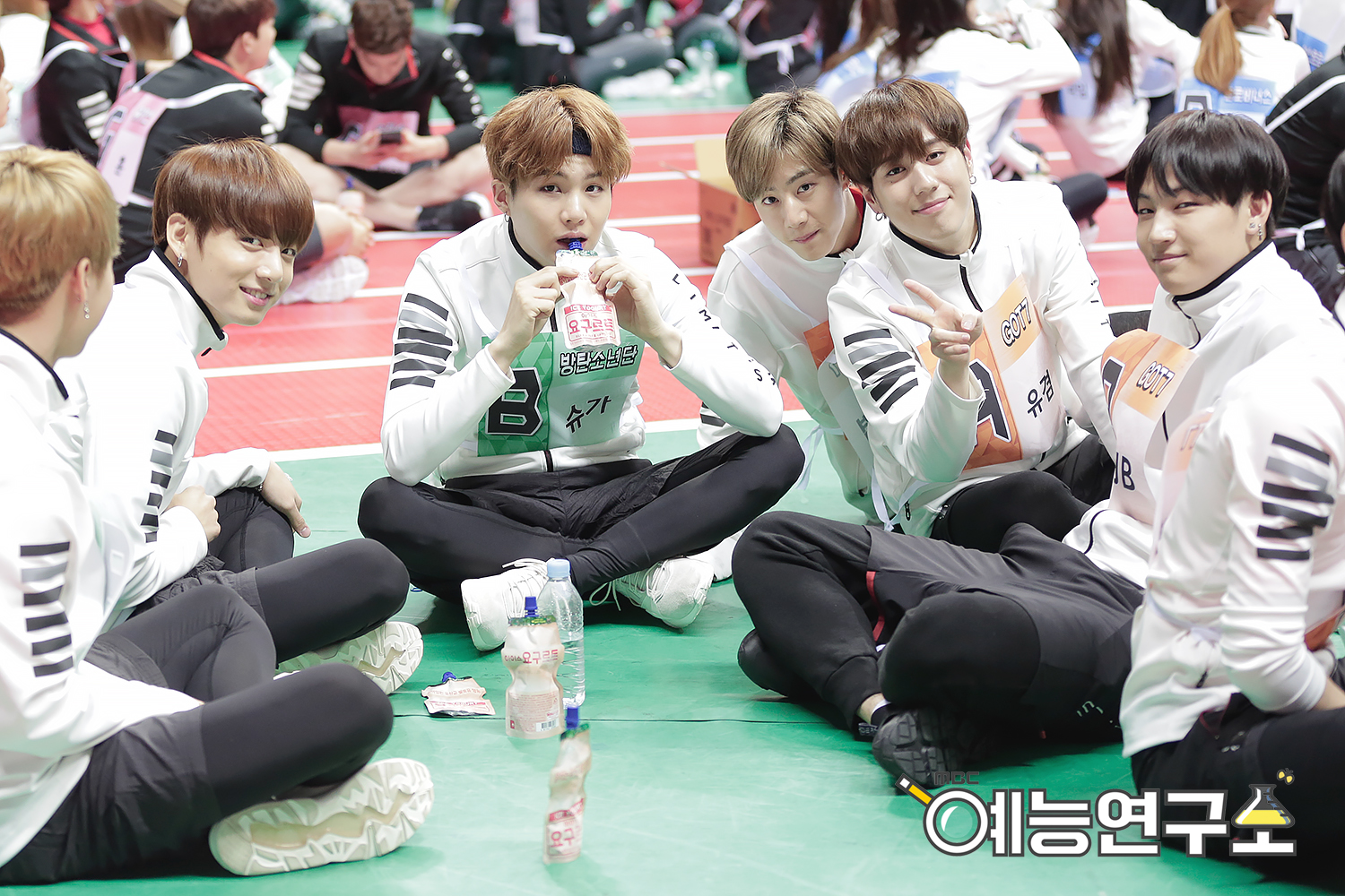 picture bts at 2016 idol star athletics championships chuseok special part 6 160829. Black Bedroom Furniture Sets. Home Design Ideas